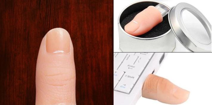 creative finger shaped pd