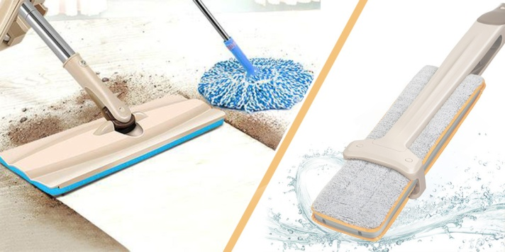 Wash-Free Flat Dragging Mop